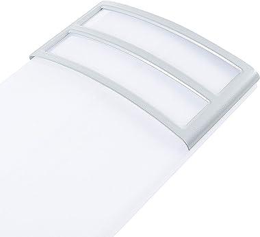 2FT LED Light Fixture 20W, 2200lm, 4000K Neutral White, 2 Foot LED Linear Flush Mount LED Kitchen Lights Fixtures Ceiling for