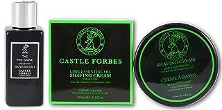 Castillo Forbes soluble en agua Pre Afeitado Bálsamo 150ml y lima Crema de Afeitado 200ml