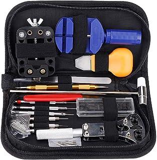 Kit Réparation Montre Outils Professionnel, 147 Pièces Kit d'outil de Réparation de Montre en Métal pour Ajuster Bracelet ...