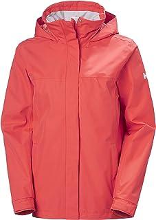 Helly-Hansen womens Aden Waterproof Windproof Breathable Packable Hood Rain Coat Jacket