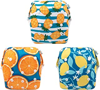 babygoal Baby Reusable Swim Diaper, Washable and Adjustable for Babies 0-3 Years, Swimming Lessons 3ZSD03