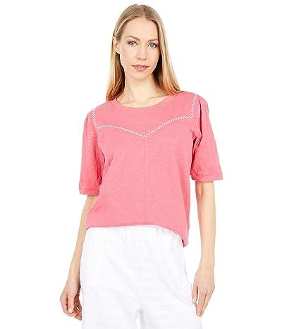 Mod-o-doc New Slub Jersey 1/2 Sleeve Femme Top