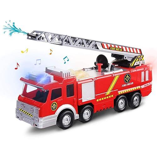 fire engines. Black Bedroom Furniture Sets. Home Design Ideas