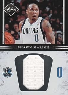 2011-12 Limited Jumbo Jersey Number #4 Shawn Marion 55/99 Dallas Mavericks