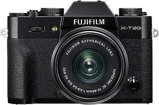 كاميرا فوجي فيلم X-T20 ميرورليس ديجيتال مع عدسة PZ - XC15-45mmF/3.5-5.6 - اسود