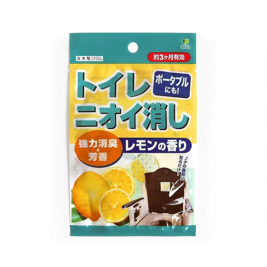チューブコーンウォール適合しましたオカ(OKA) 消臭グッズ全般 レモン 1枚 トイレニオイ消し 消臭 芳香剤
