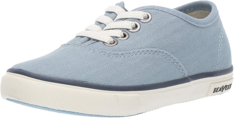 SeaVees Unisex Kids Legend Sneaker Standard, Pacific Blue, 12C M US Little Kid