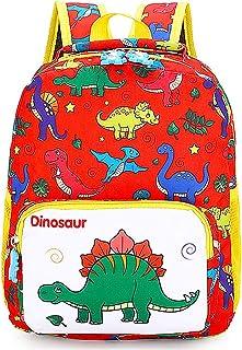 Mochila Infantil, BETOY Mochila para Niños de Dinosaurios Mochila Escolar Infantil Niño , Mochila Preescolar Lindo de Kind...