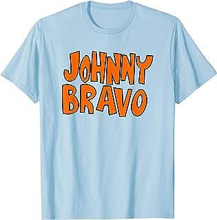 Cartoon Network Johny Bravo Logo T-Shirt
