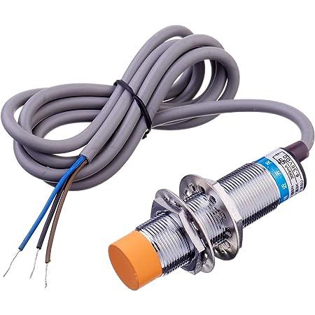 M8 NPN NO Inductive Proximity Sensor Switch LJ8A3-2-Z//BX Barrel 3D-Drucker CNS