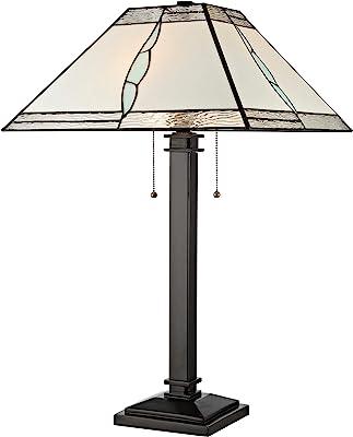 Dale Tiffany Lamps TT19195 ParkTable Lamp, Tiffany Bronze