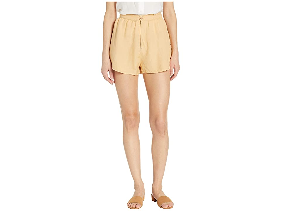 Amuse Society Canopy Shorts (Latte) Women's Shorts, Brown