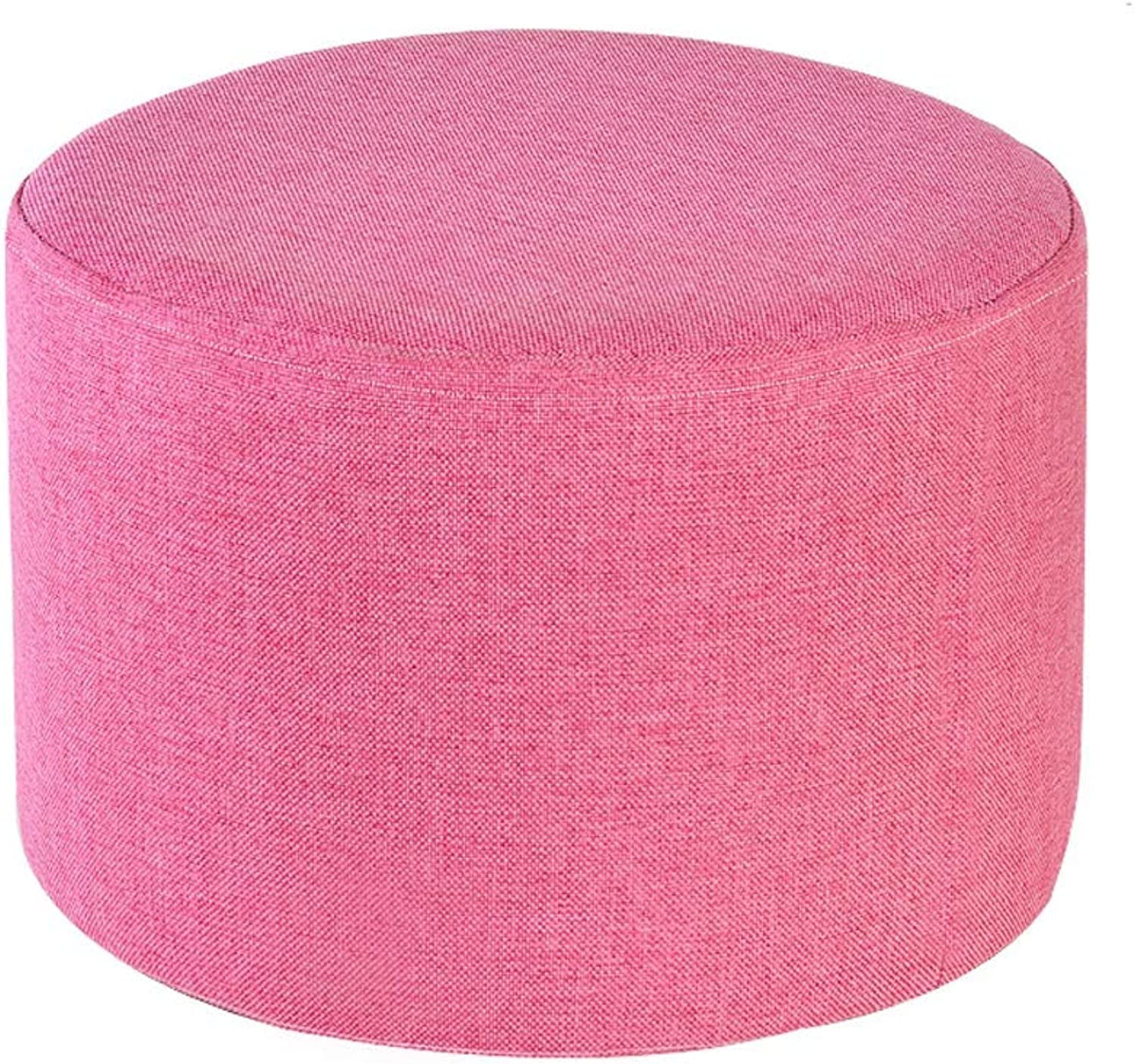 MKKJD Cushion Tatami futon Round Yoga Meditation mat, Cotton Linen Fabric Removable and Washable (color   C)