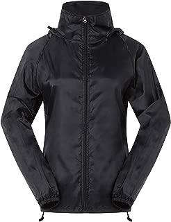 Cheering Spmor Women's Lightweight Jackets Waterproof Windbreaker Jacket Super Quick Dry Running Coat