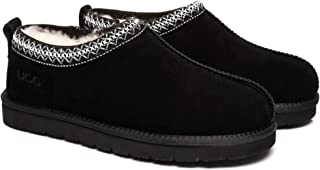 UGG Slippers Australian Sheepskin Men's Tasman Slipper Warmth Winter Shoes
