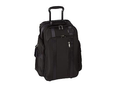 Tumi Merge Wheeled Backpack (Black) Backpack Bags