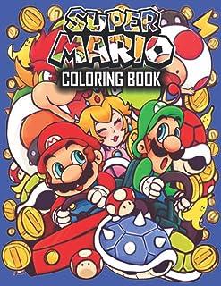 Super Mario Coloring Book: Funny Super Mario Coloring Books for Nintendo Gamer