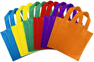 coloured canvas bags