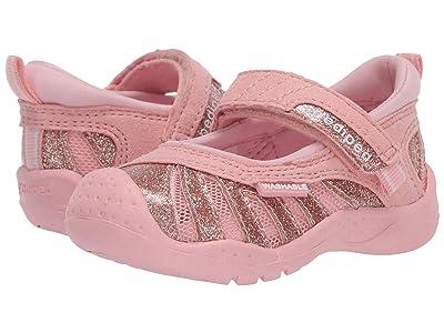 pediped Minnie Flex (Toddler/Little Kid) (Rose Gold) Girls Shoes