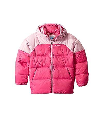Columbia Kids Centennial Creektm Down Puffer (Little Kids/Big Kids) (Pink Ice/Pink Clover) Girl