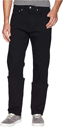 CKJ 037 Relaxed Straight Jeans in Forever Black