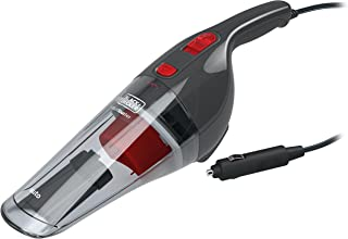 BLACK+DECKER NV1210AV Powerful Dustbuster Car Vacuum Cleaner with 6 Accessories (12V, Red and Black)