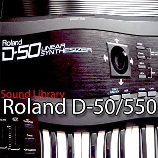 for ROLAND D-50/550 Large Original Factory and NEW Created Sound Library & Editors on CD or download
