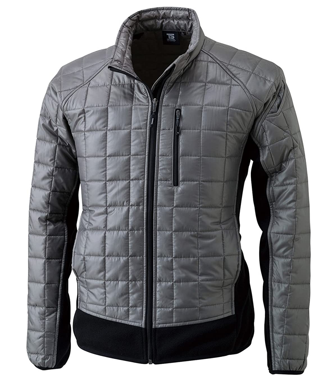 スカーフポータルキャプションTS DESIGN マイクロリップロングスリーブジャケット 秋冬用 4226 25 チャコール M