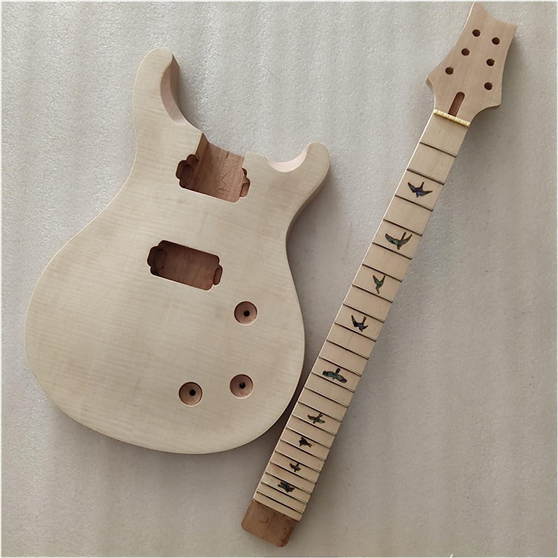 Cuerpo Guitarra 1 Conjunto De Cuello Y Cuerpo De Guitarra Inacabada. PRS Kit De Guitarra De Estilo Kits Guitarra Bricolaje