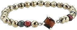 Semi-Precious Stone Stretch Bracelet