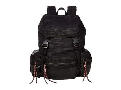 Rebecca Minkoff Downtown Nylon Backpack (Black) Backpack Bags