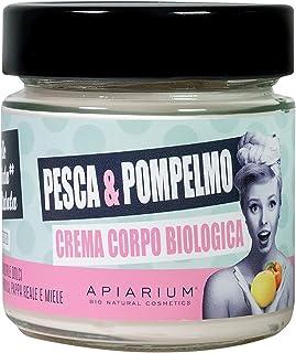 APIARIUM Peach & Grapefruit Organic Body Cream - 200 ml