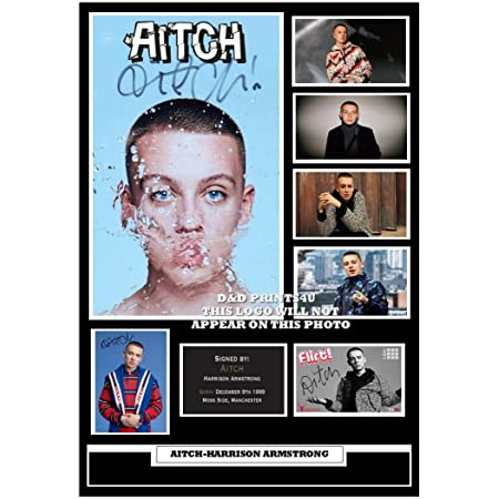 #357 AITCH HARRISON ARMSTRONG SIGNED PHOTOGRAPH SIZE A4 REPRINT GREAT GIFT @@@@@