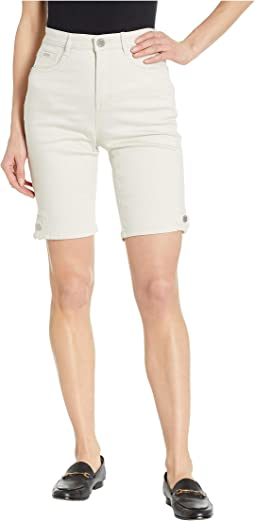 Soft Hues Denim Suzanne Bermuda in Straw