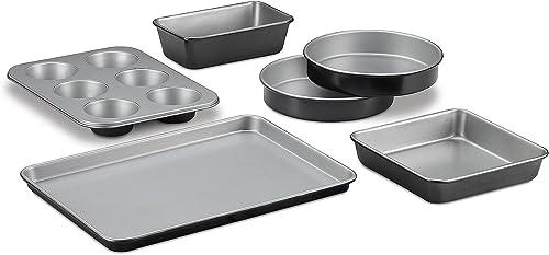 popular Cuisinart discount online 6-Piece Classic Bakeware Set outlet online sale