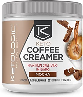 KetoLogic MCT Oil Powder: Keto Coffee Creamer for Sustained Energy and Appetite Control – Low-Carb, Paleo-Friendly, Ketoge...