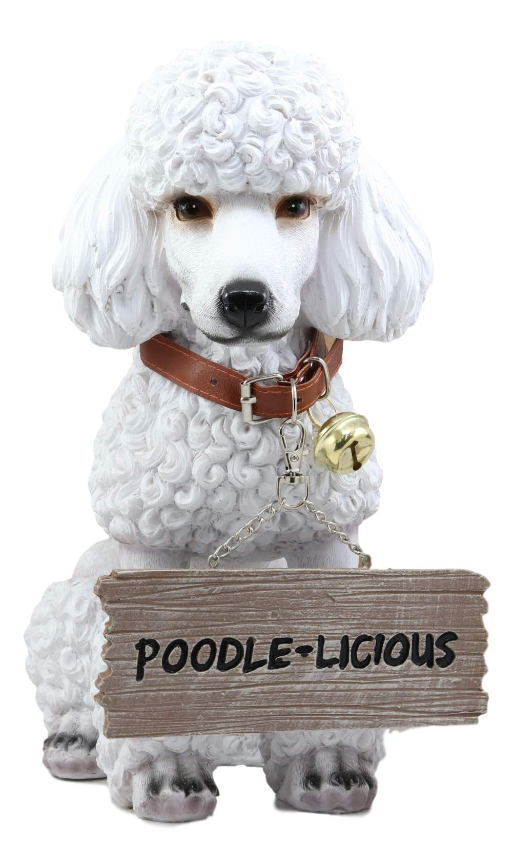 Ebros Lifelike Realistic Groomed White French Poodle Dog Fifi Welcome Greeter Statue 11 5 Tall Pedigree Dogs Breed Collectible Home Patio Decor Figurine With Jingle Collar Greeting Signs Buy Online In Botswana At