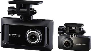コムテック 前後2カメラ ドライブレコーダー ZDR026 前後370万画素 WQHDノイズ対策済 夜間画像補正 LED信号対応 専用microSD(16GB)付 1年保証 SONY製CMOSセンサー搭載 Gセンサー GPS 19年モデル CO...