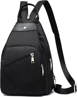 Rucksack Damen Canvas Rucksäcke Mini Rucksack Für Mädchen Damen Kleinen Rucksack Anti-Theft Rucksack für Outdoorsport, Wan...