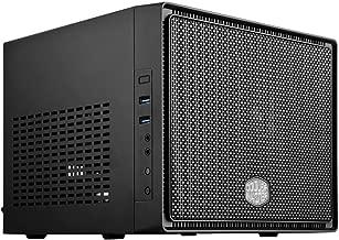 Cooler Master Elite 110 RC-110-KKN2 Midnight Black Steel/Plastic Mini-ITX Tower Computer Case (Renewed)