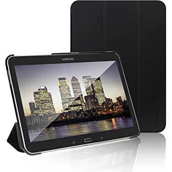 JETech Case for Samsung Galaxy Tab 4 10.1 Tablet (T530/T531) with Auto Sleep/Wake (Black)