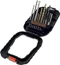 Black & Decker A7186 Aksesuar Set, Metalik, 1 Adet