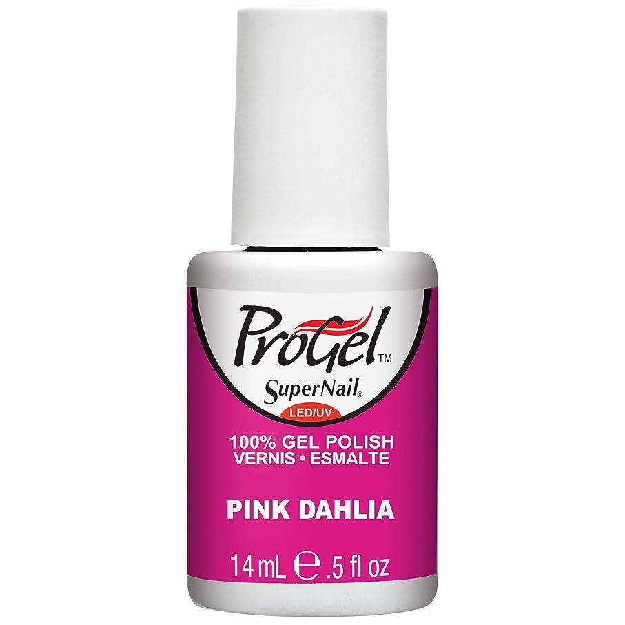 推測降ろす写真のSuperNail ProGel Gel Polish - Pink Dahlia - 0.5oz/14ml