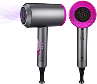 Ionic Hair Dryer, 1800W Professional Hair Dryer for Fast Drying, Hair Blow Dryer with 2 Concentrator, Travel Hair Dryer wi...