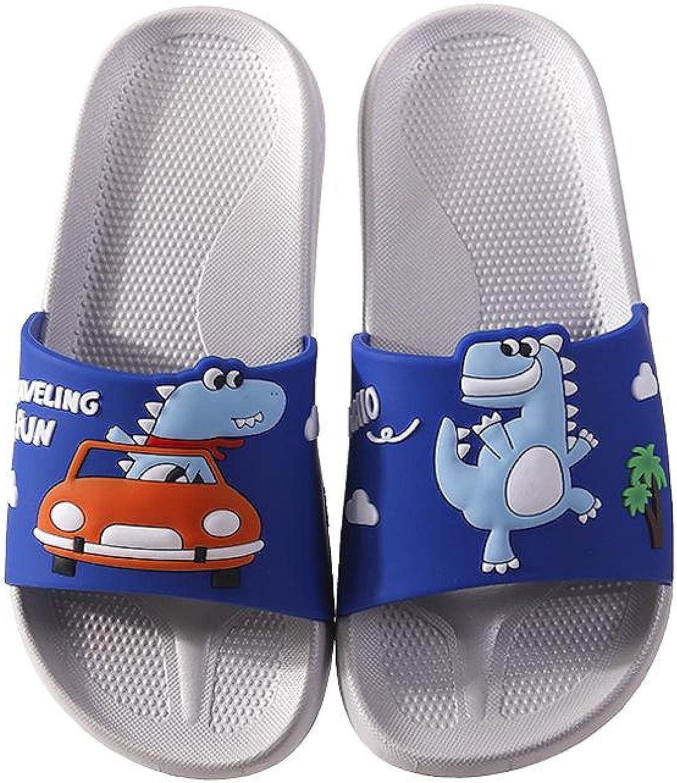 NUGKPRT flip flop 1 year warranty Summer Boys Girls Reservation Cartoon Slippers For Childre