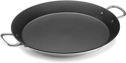 ALZA PAELLERA Basic Valenciana 36CM INOX(00370036), Acero Inoxidable, Negro, 36 cm: Amazon.es: Hogar