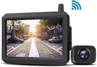 AUTO-VOX Caméra de Recul sans Fil avec Signal Numérique Stable, Caméra de Recul..