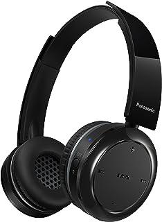 Panasonic RP-BTD5E-K - Auriculares Bluetooth diadema abiertos (micrófono y manos libres, batería de larga duración, USB, cascos inalámbricos, diadema moviles, TV, PC), negro (Versión Importada)