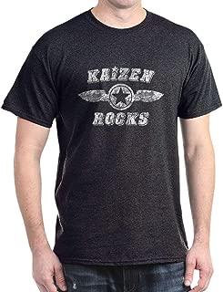 CafePress Kaizen Rocks Dark T Shirt Cotton T-Shirt