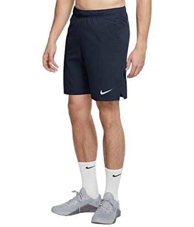 Nike Flex Shorts Woven 3.0 (Obsidian/White) Men